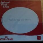 Royal Canin free fridge magnet - Odog your online dog blog